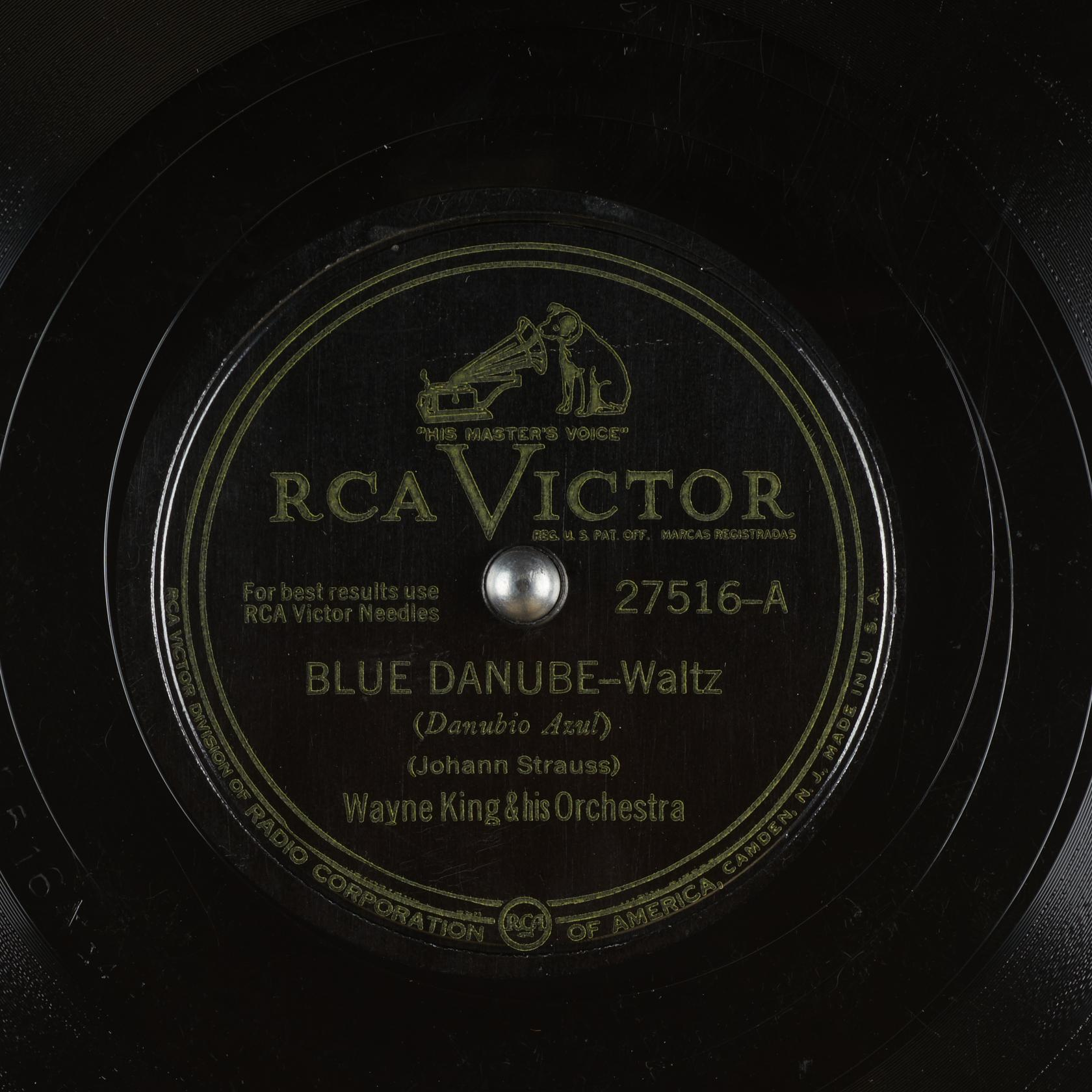 Blue Danube Danubio Azul Wayne King His Orchestra Free Download Borrow And Streaming Internet Archive