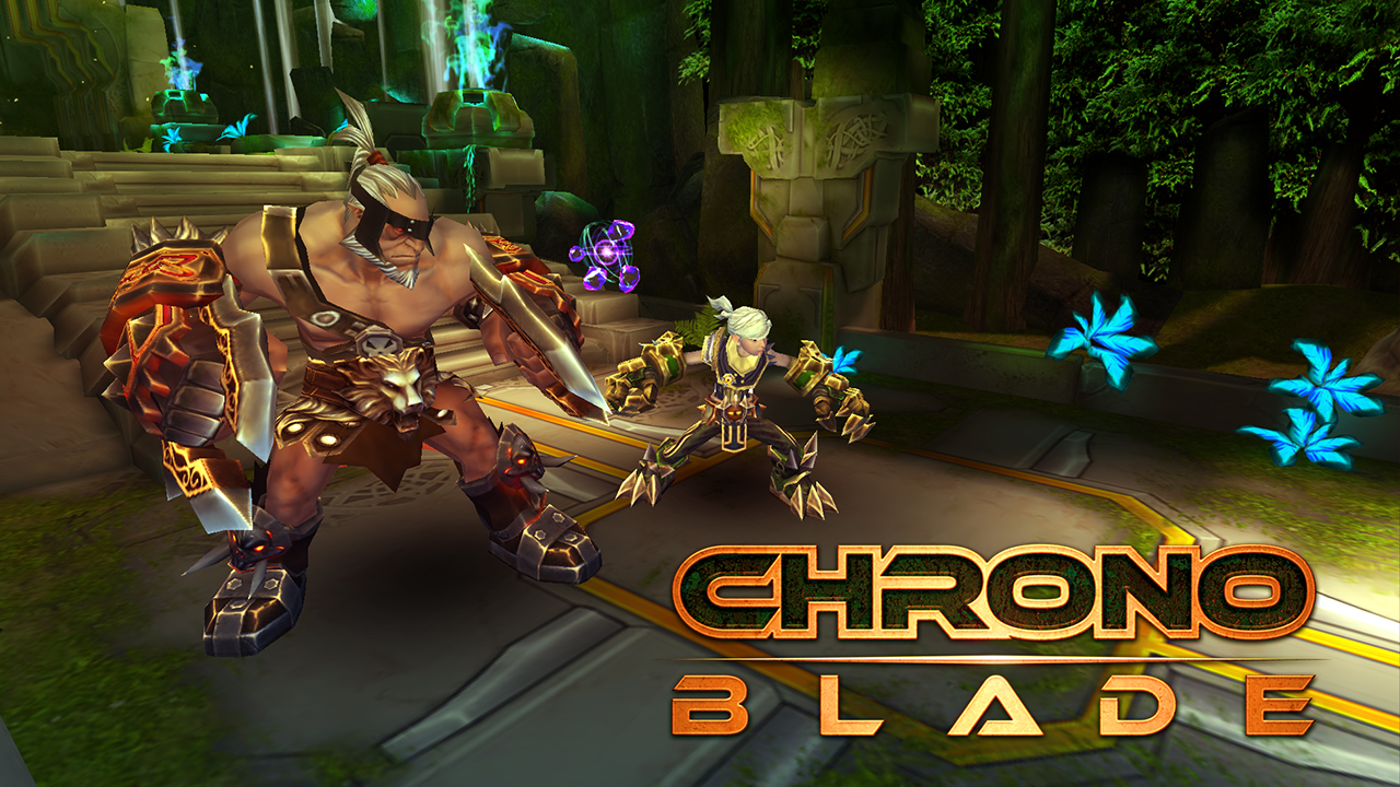 Screenshot of ChronoBlade Demo