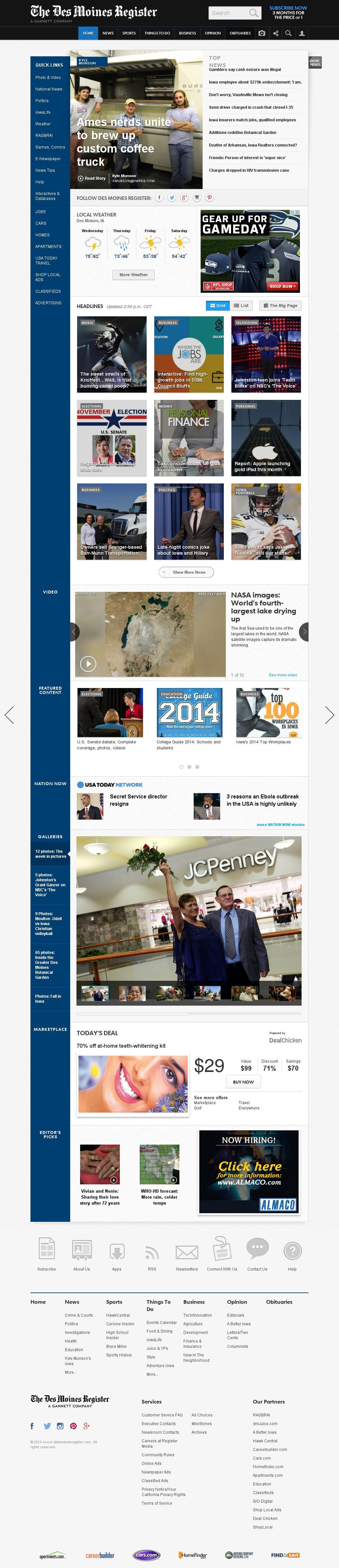 DesMoinesRegister.com at Wednesday Oct. 1, 2014, 8:03 p.m. UTC