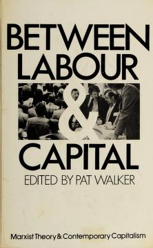 Cover of: Between labour and capital (Marxist theory and contemporary capitalism) |