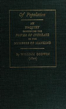 Cover of: Of population | William Godwin
