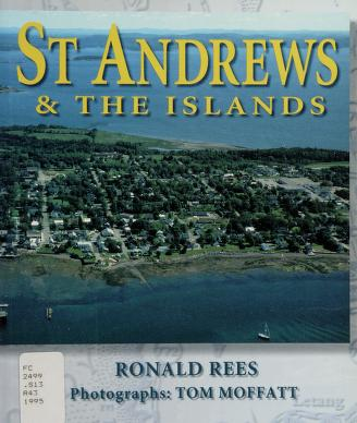 Cover of: St Andrews and the Islands | Ronald Rees